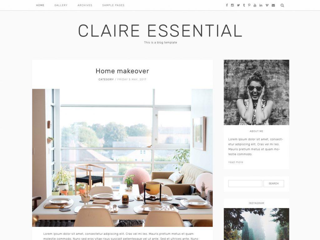 Claire Essential