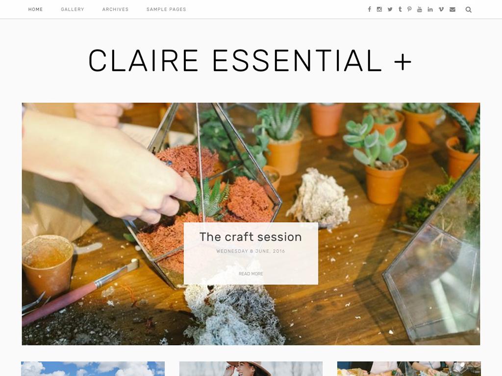 Claire Essential plus