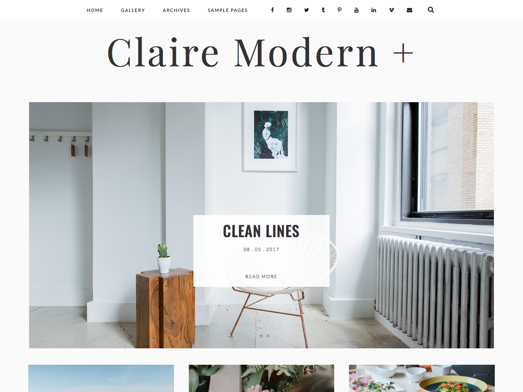 Claire Modern plus